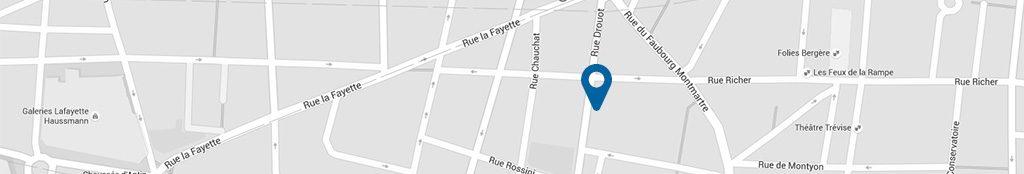 Localisation du Cabinet à Paris